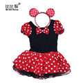 Halloween Cosplay Xmas Minnie Mouse Girls Dress Christmas party Kids Girl Birthday Fancy Costume Ballet Tutu  children Dress