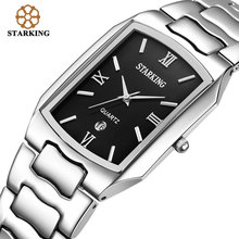 STARKING Men Japanese movement Quartz Watches Businessmen 2016 Arrival Fashion Casual Famous Brand Stainless Steel Watch