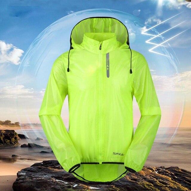 Santic cycling jacket Windproof camperas ropa ciclismo hombre of breathable  windbreaker vtt racmmer rain jacket men MC07008V 88f5dc5cd