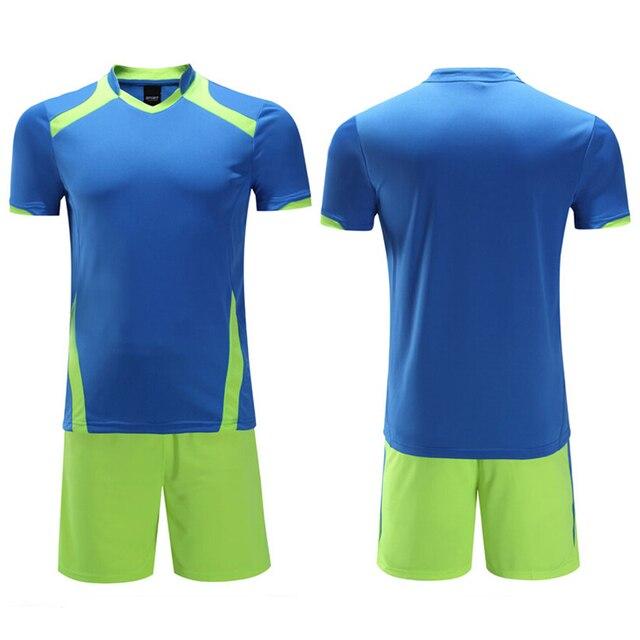 Vigilancia Fútbol 2017 hombres respirables Camisetas de Soccer kit  Universidad en blanco Fútbol Jersey Sets equipo 1437e13ce6a00