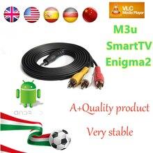 1 Année L'europe Français Arabe IPTV 1150 + Live TV IPTV Soutien Android boîte/M3U/ENIGMA2/MAG250 pour ITALIE Allemagne Belgique ROYAUME-UNI Suède