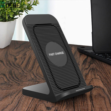 DCAE 10W Qi Wireless Charger for Samsung S10 S9 Note 10 9 for iPhone 11 X 8 XS Max XR Xiaomi Huawei Wireless Fast Charging Stand