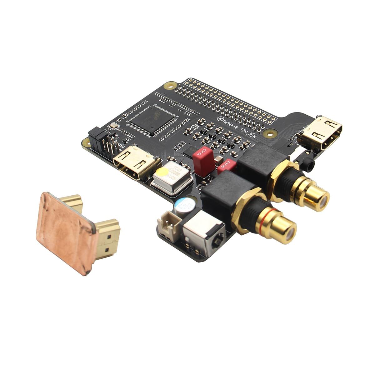 X4000 Expansion Board HIFI Audio Mini PC For Raspberry Pi 3 Model B / 2B / B+