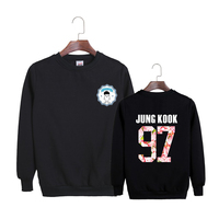 New KPOP Korean BTS 2th Album WINGS Bangtan Boys Hip Hop HipHop Monster Cotton Hoodies Clothes
