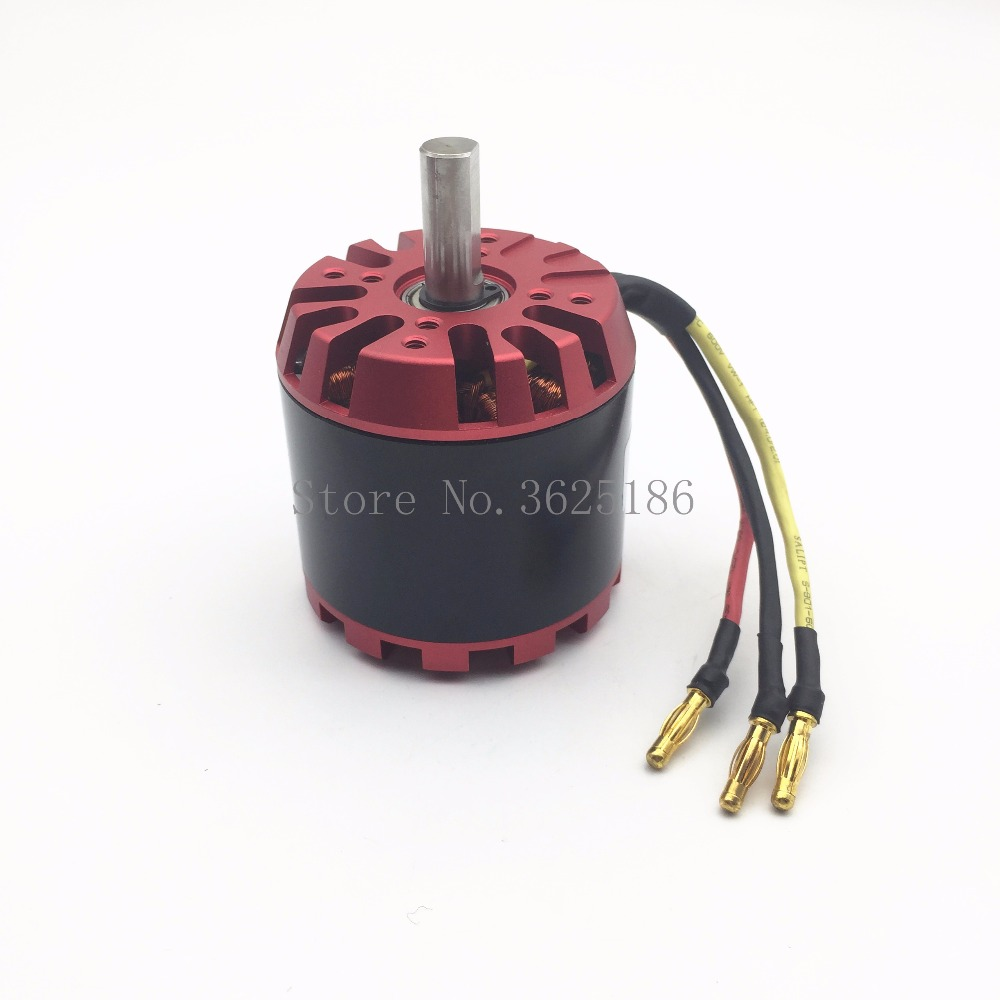 6364 200kv Power Model Aircraft DC Brushless Motor Scooter Explosion-proof Electric Car Adjustment Remote Control Four-wheel