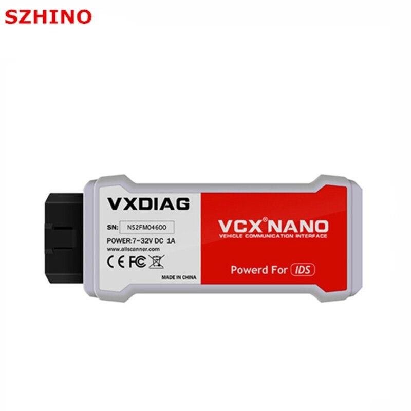 Newest VXDIAG VCX NANO for Fo rd/M azda 2 in 1 V101 V104 Auto Scanner