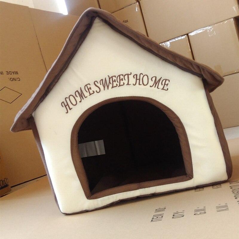 Casa de Perro de peluche Samoyedos Estera Productos Para Mascotas Camas Para Mas