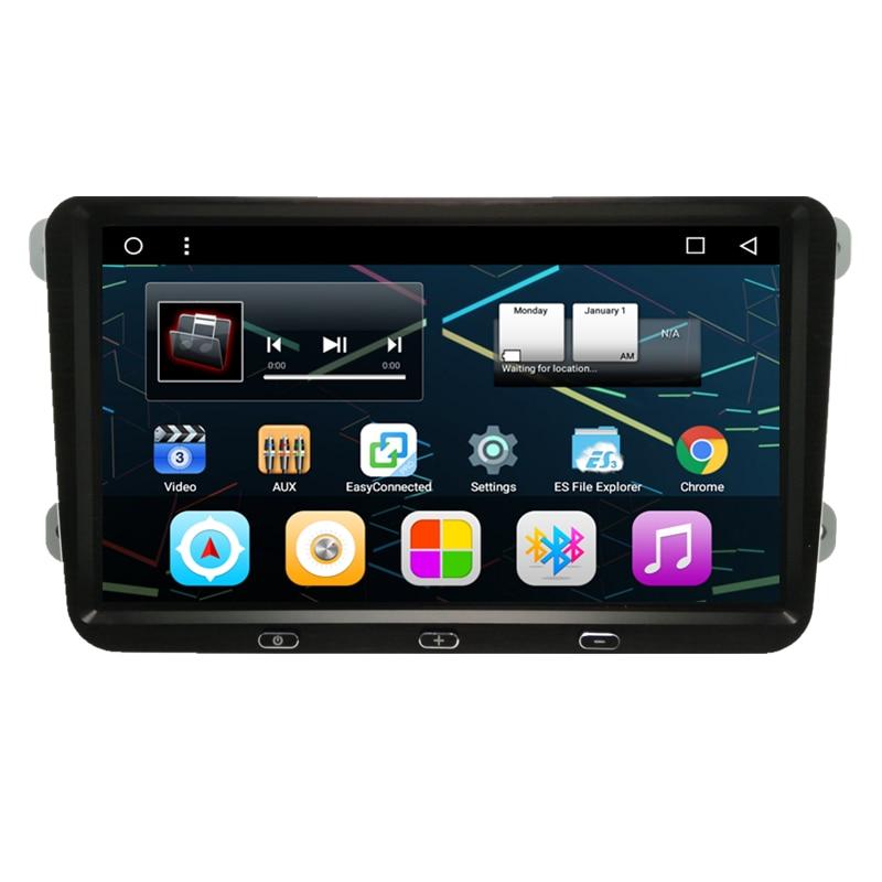 9 Quad Core Android 6.0 Car Radio Audio DVD GPS Navigation Central Multimedia for VW Volkswagen Cupra Amarok Transporter T5 EOS