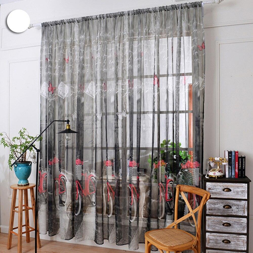 barras de cortina de la cocina