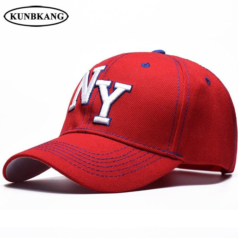 2018 Unisex Mode Ny Baseball Cap Hip Hop Snapback Hut Baumwolle Männer Frauen Stickerei New York Sport Freizeit Hut Snapback Kappen Baseball-kappen Kopfbedeckungen Für Herren