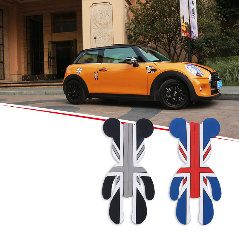 Car Door Anti Collision Car <font><b>Sticker</b></font> Thicken protection Decoration Accessories For BMW MINI Cooper S JCW ONE F54 F55 F56 F57 F60 image