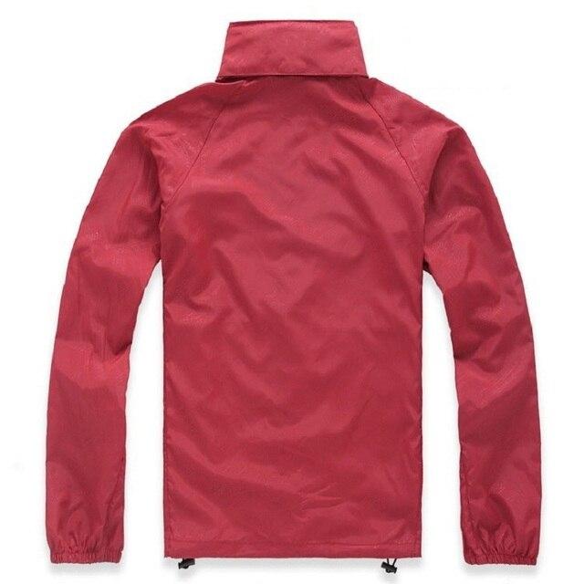 Men Women Unisex Quick Dry Waterproof Hiking Sun-Protective Outdoor Sports Jackets 4