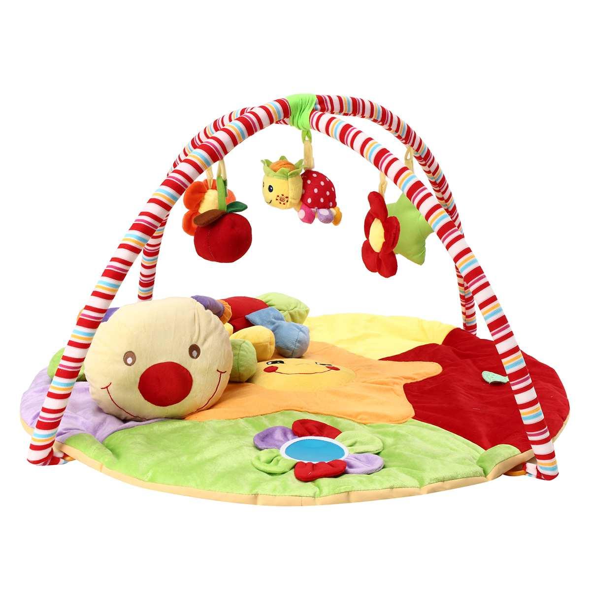 90X50 cm bébé infantile tapis de jeu Musical gratuit ramper ventre temps Gym Rack doux jouets éducatifs couverture bébé jouets unisexe tapis de jeu