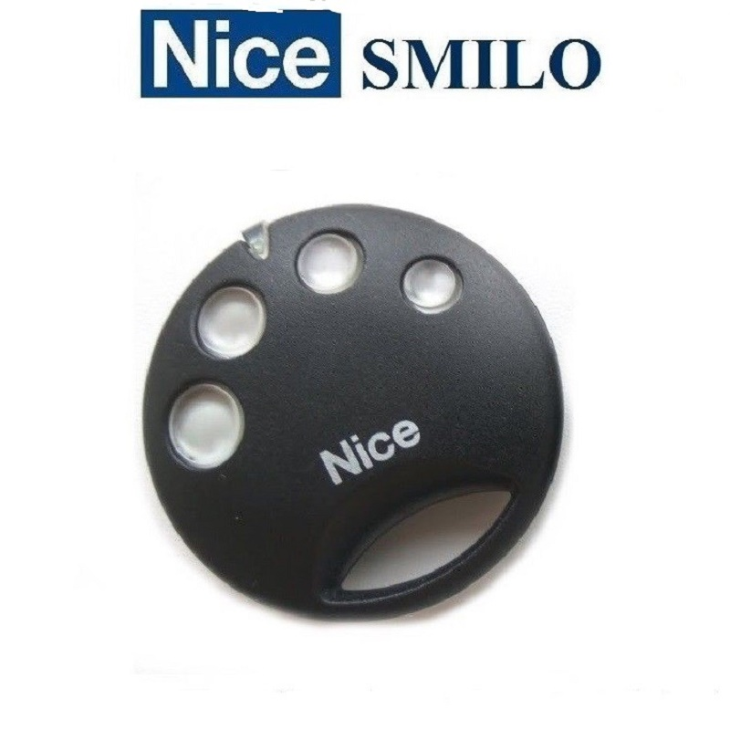 2pcs for NICE SMILO SM4 garage door remote control rolling code duplicator2pcs for NICE SMILO SM4 garage door remote control rolling code duplicator