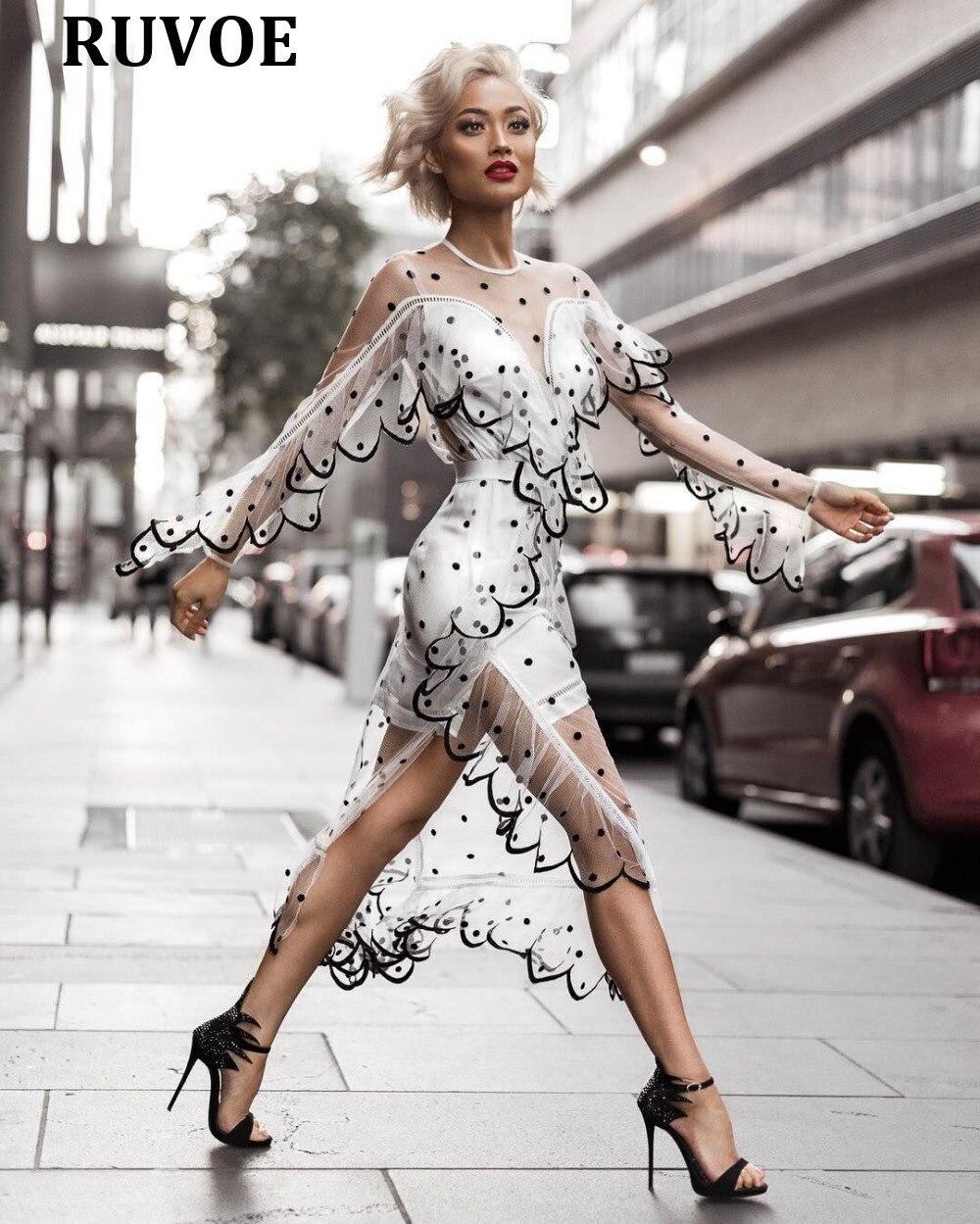 D'été Plage Noir Noir Blanc Dentelle À Floral Évider Plus Voir Robe Sexy blanc Bandage Travers Femmes La Taille dwqX1Eq