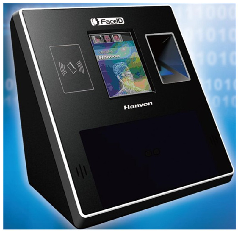 M500 Hanvon Time Attendance And Access Control Terminal Fingerprint Reader Face Detection Quick Recognition