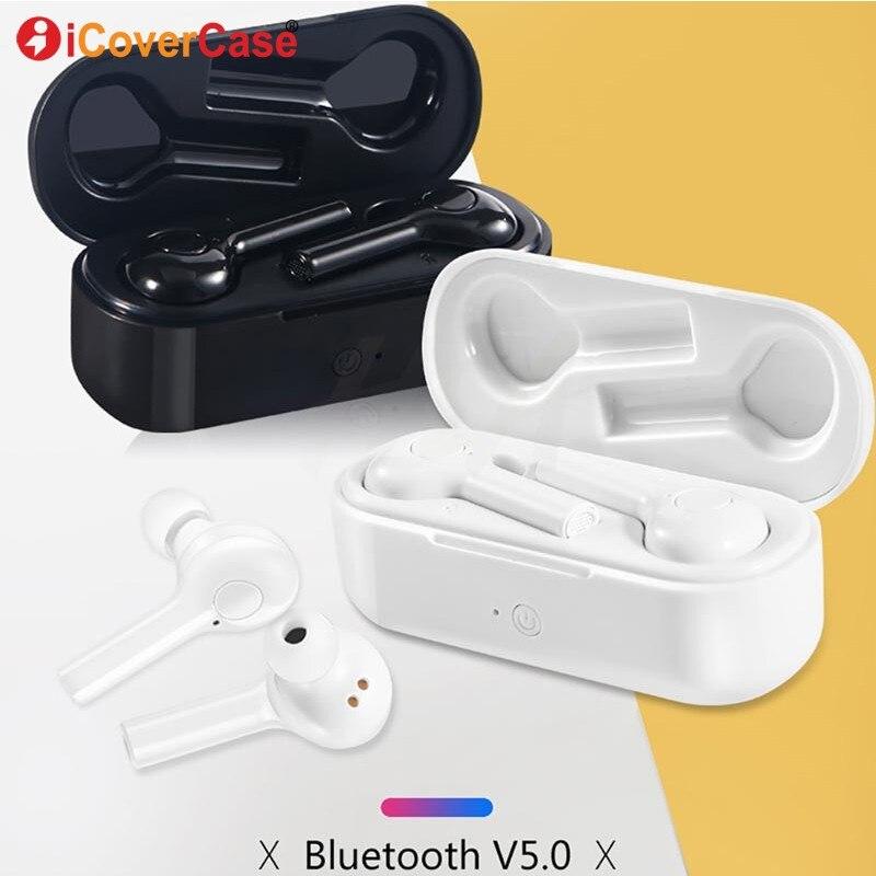 Fone de ouvido Para Huawei Companheiro 20X20X10 P30 Lite P20 P10 Plus P9 Lite P8 Honra V20 9 sem fio Bluetooth Fone De Ouvido Com Caixa de Carga