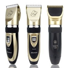 Pet Cat Dog Hair Trimmer Eléctrico Recargable profesional Grooming Dog Hair Clipper máquina de Afeitar Set Máquina de Corte de pelo de Mascotas
