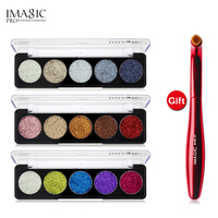 IMAGIC Buy 3 Get 1 Gift 3pcs Set 5 Colors Glitters Eye Shadow Get A Eyeshadow