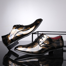 Shoes Brand Flats-Size Oxfords Formal New-Fashion Business Good-Quality Men 38-44