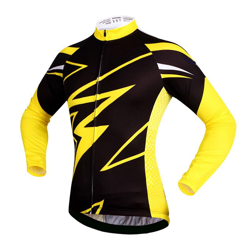 WOSAWE-Quk-Dry-Breathable-Bike-Bycle-Cycling-Cycle-Jersey-Jacket-Long-Sleeve-Tee-Quarter-Men-s (1)