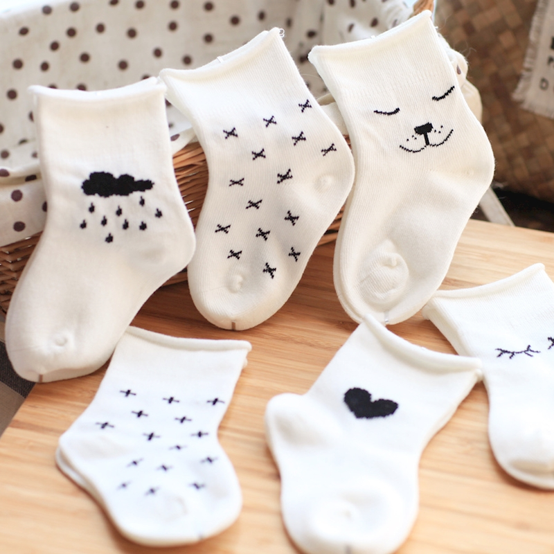 3paris Newborn Socks Toddler Baby Socks Summer Kids Boys Girls Leg Warmers Newborns Socks Infant Bebes Anti-slip Floor Wear 0-3Y