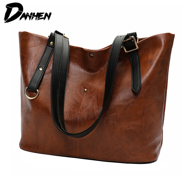 High Quality PU Women Shoulder Bag Female Handbag Causal Totes Shopping All-Purpose Handbag For Women Leather Bag