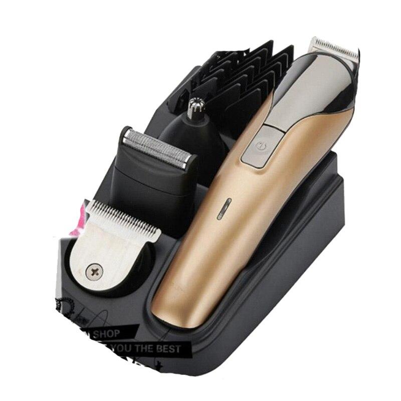 Marque 100-240 V tondeuse électrique tondeuse à cheveux barbe professionnelle Cutter Machine de coupe de cheveux pour couper les cheveux tondeuse