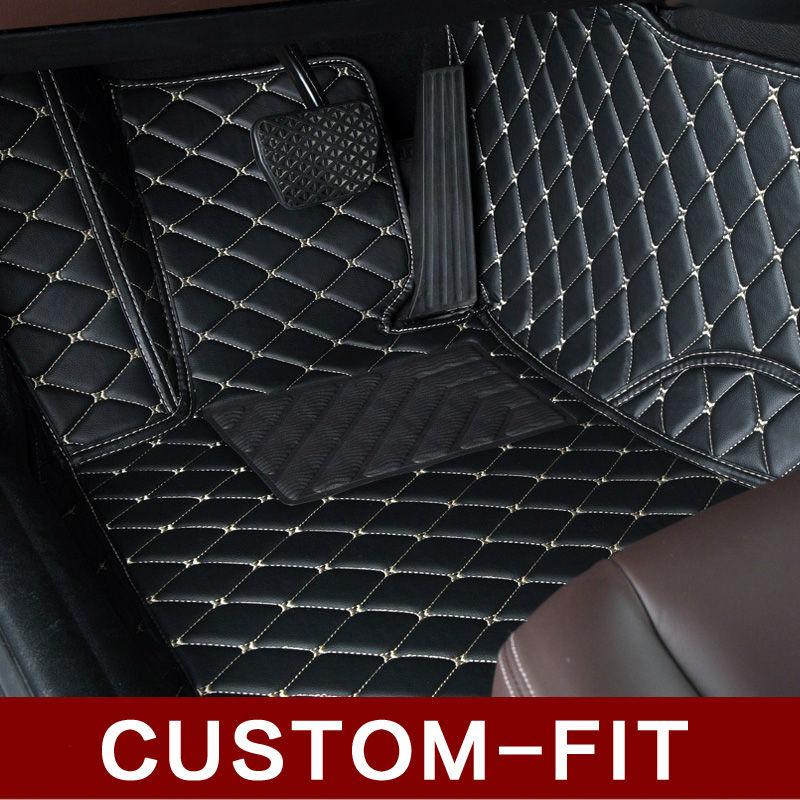 Custom fit car floor mats for Toyota Camry RAV4 Prius Prado Highlander Sienna zelas verso 3D