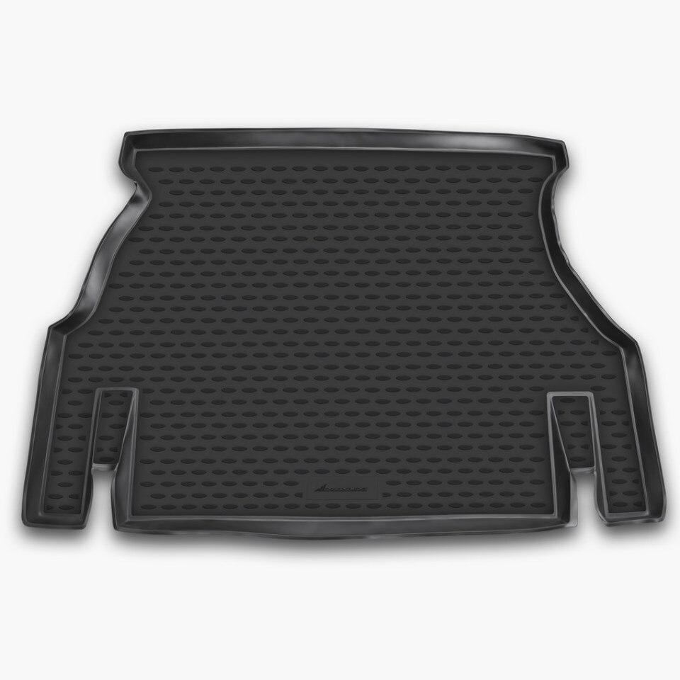 Car trunk mat for Daewoo Nexia 1995-2016 Element NLC1105B10 car trunk mat for daewoo nexia 1995 2016 element nlc1105b10