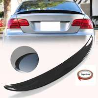 New Real Carbon Fiber High Kick Car Rear Trunk Racing Spoiler Wing Lip For BMW E92 Coupe 328i 335i M3 2Dr 2007 2013