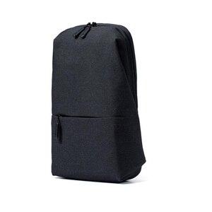 Image 5 - Original Xiaomi Backpack urban leisure chest pack For Men Women Shoulder Type Unisex Rucksack for camera DVD phones Travel bag