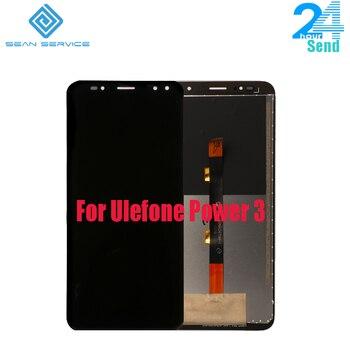 Para 100% Poder Original Ulefone 3 3 SLCD Display + Touch Screen Teste 6.0 polegada Tela Do Painel De Vidro Digitador Assembléia substituição