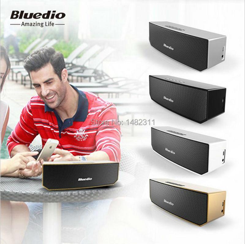 NEW Original Bluedio BS-3 Portable Mini Wireless Bluetooth Speaker Soundbar v4.1 stereo Music listening call free ship