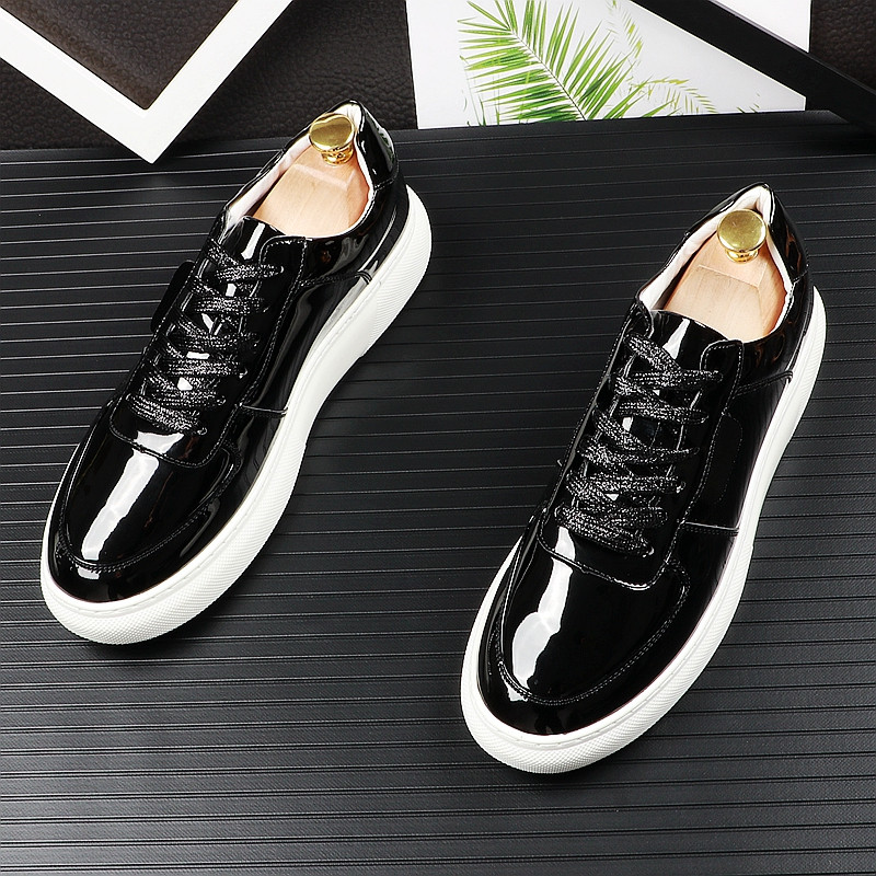 Britânico Placa Flats Qualidade Moda Sapatos Quente Charme Dos De Casuais Venda Alta 2 Prom Homens 1 Jovem Designer Partido Mocassins Da ESAqUwx