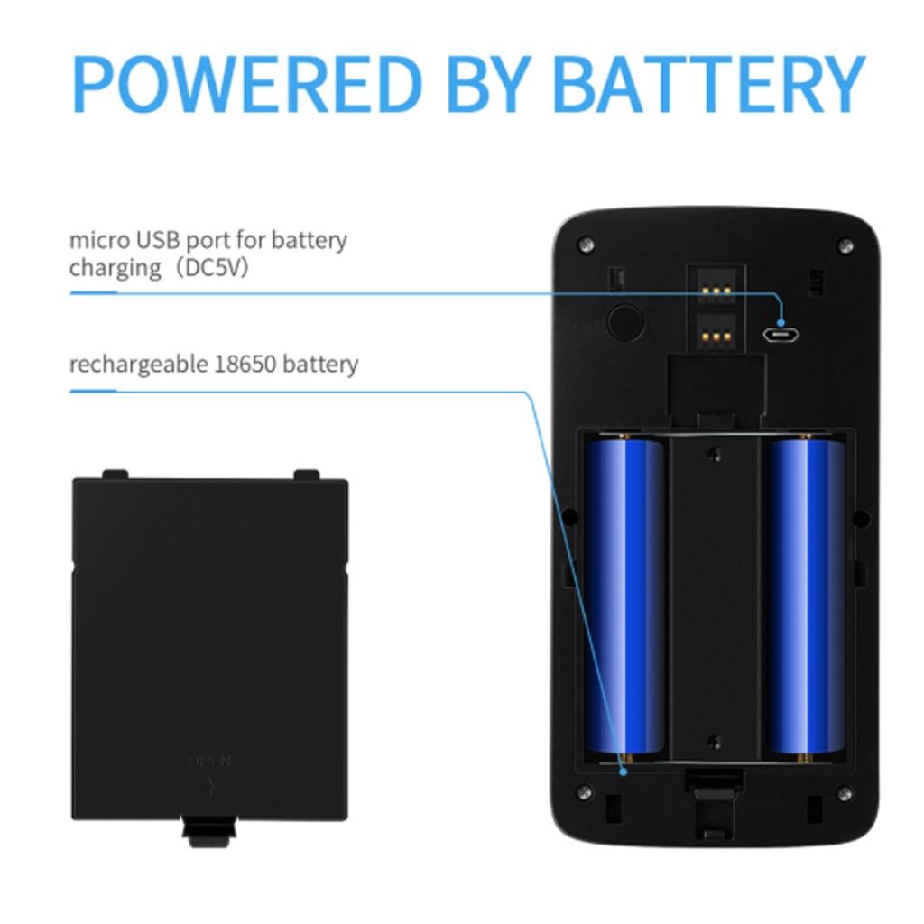 Sonnette sans fil appel téléphone intelligent porte cloche WIFI sonnette pour appartements étanche US EU prise batterie puissance porte cloche sans fil - 6