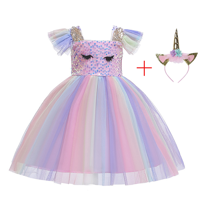 party, flower girl, Bridesmaid Pastel rainbow sparkly tutu skirt