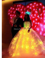 LED illuminated Ballet dress for party/performance/Dance dress/2013 dress/light up costumes Picture