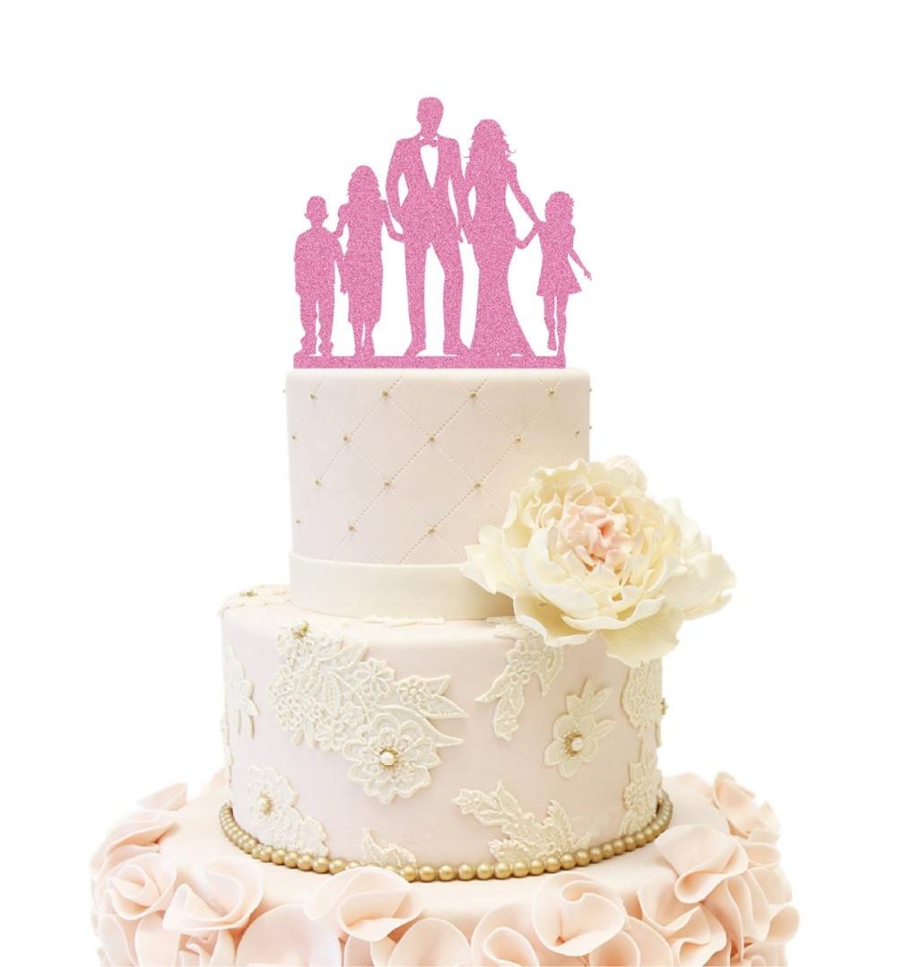 Peachy Family Anniversary Wedding Cake Topper Bride And Groom Custom Kids Funny Birthday Cards Online Alyptdamsfinfo