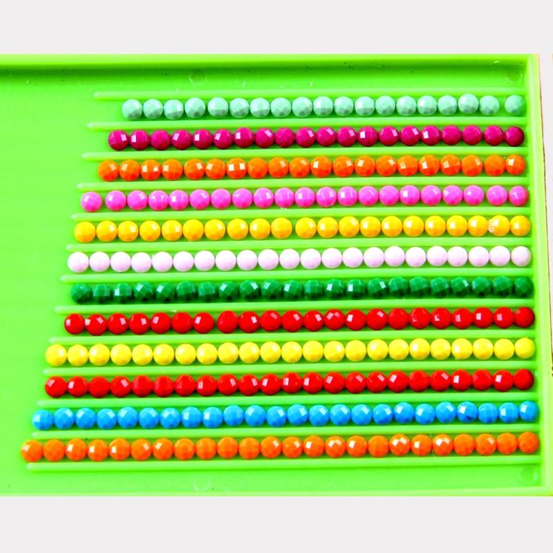 Almaz Nakış 5D DIY Almaz Rəsm çiçəyi Almaz Rəsm Rhinestone - İncəsənət, sənətkarlıq və tikiş - Fotoqrafiya 3