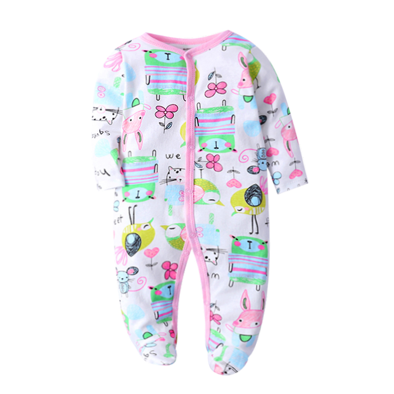 Summer Baby   Rompers   Spring Newborn Baby Clothes For Girls Boys Long Sleeve Jumpsuit Baby Clothing boy Kids Outfits