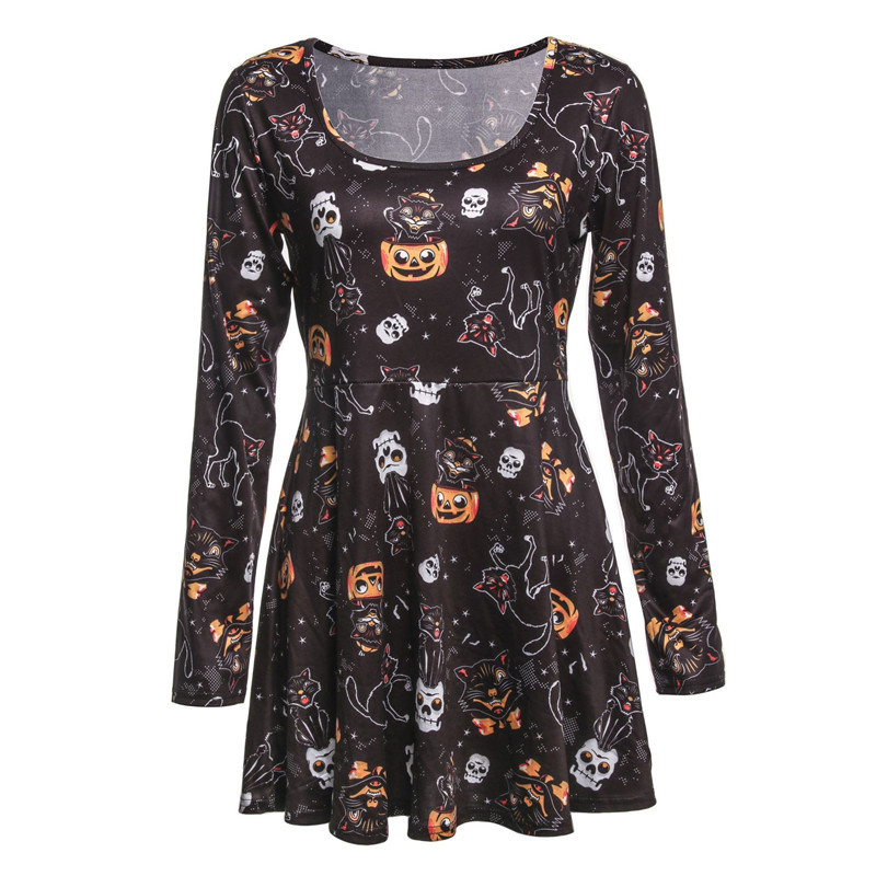 f96c2c8c82af1 Maternity Dress For Halloween Party Pregnant Women Cosplay Pumpkin ...
