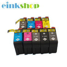 Vilaxh Compatible Ink Cartridge 9 colorFull For Epson SURECOLOR SC-P600 inkjet printer