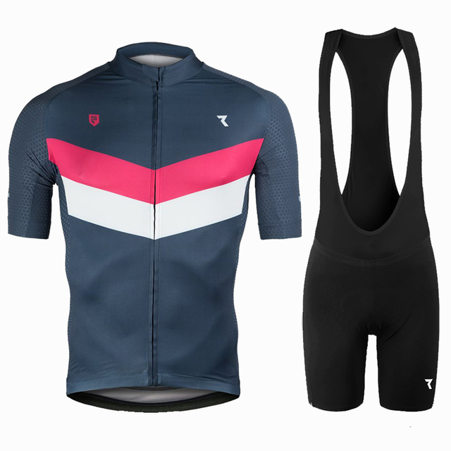0b9bd398a Ryzon Cycling Jersey Set For Men Short Sleeve Quick Dry MTB Bike Road  Riding Clothing Wear