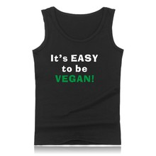 """Powered By Plants"" men's Tank Tops shirt / 3 colors"