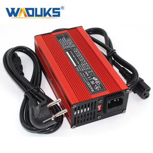 Image 1 - 67.2V 3A Charger 67.2V Li ion Battery Smart Charger For 16S 59.2V 60V Li ion Battery High Power With Fan