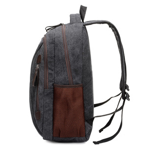 Image 4 - Men Canvas Laptop Backpacks Male College Students School Backpack Casual Rucksacks Women Mochila Large Travel Back Pack XA1937C