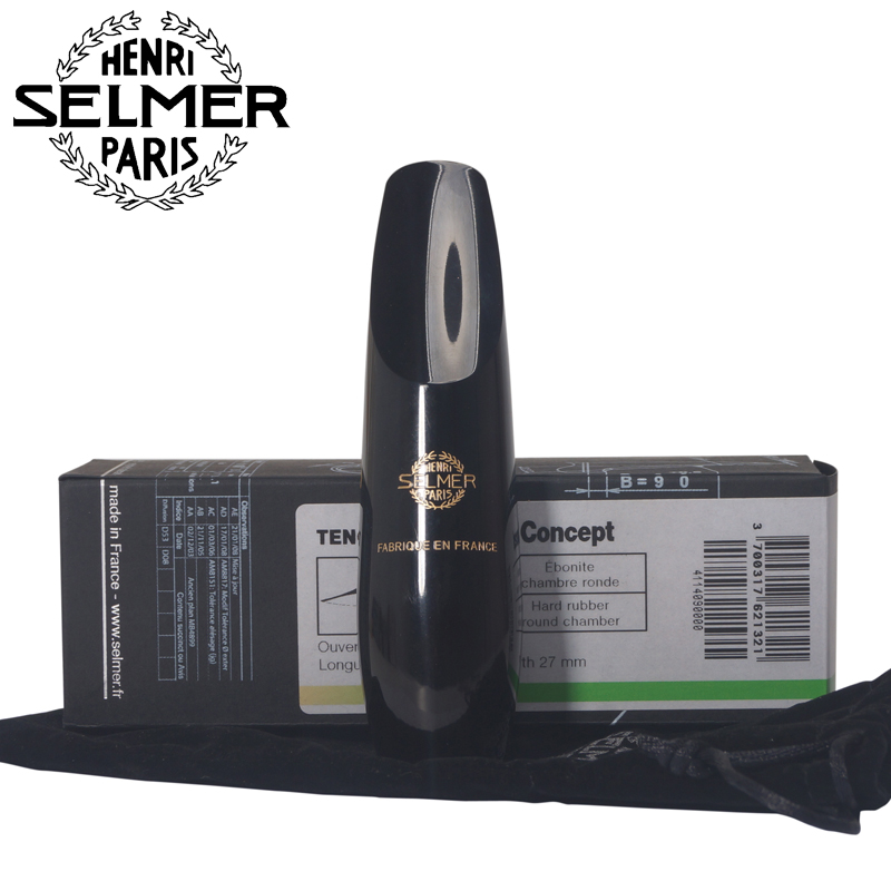 France selmer Original concept mouthpiece Bb Tenor Saxophone hard rubber mouthpiece wholesale france 54 bronze copy henry selmer tenor saxophone instrument reference