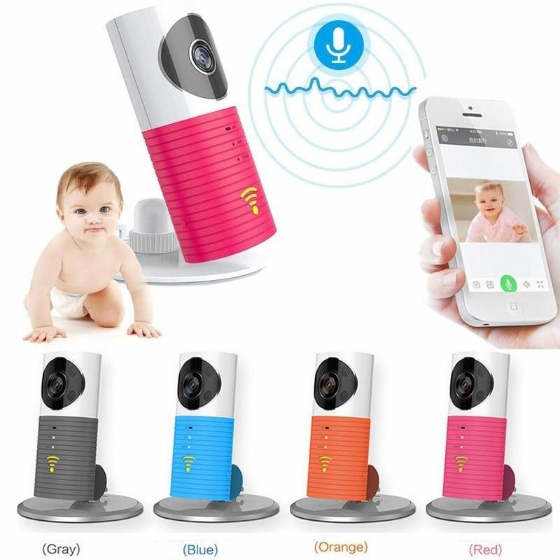 Wifi niania elektroniczna baby Monitor IR Night vision opiekunka do dziecka niemowlę domofon wykrywanie ruchu PIR bezpieczeństwa Wifi 720p kamera IP alarm snu