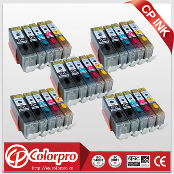 25PK PGI570 CLI571 Edible Ink Cartridge for Canon Pixma MG5700 MG5750 MG5751 MG5752 MG5753 MG6800 MG6850 MG6851 MG6852 MG6853